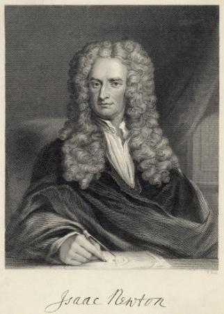 Sir Isaac Newton Mathematician Physicist Occultist