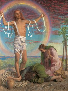 Christ and the Two Marys by William Holman Hunt