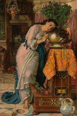 Isabella and the Pot of Basil, 1867 by William Holman Hunt