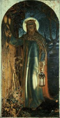Jesus, Light of the World by William Holman Hunt