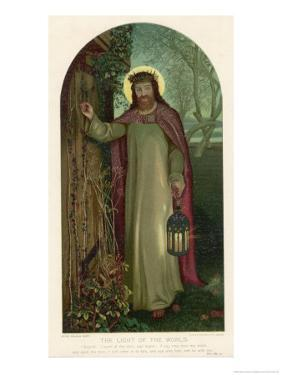Jesus of Nazareth Religious Leader of Jewish Origin by William Holman Hunt