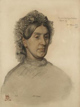 Mrs Thomas Combe (1806-1893 by William Holman Hunt