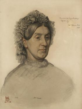 Mrs Thomas Combe (1806-1893 by William Holman Hunt