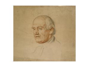 Portrait of Dr Bloxham by William Holman Hunt