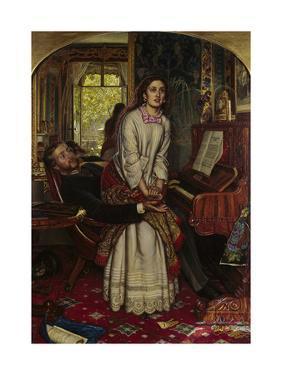 The Awakening Conscience, 1858 by William Holman Hunt