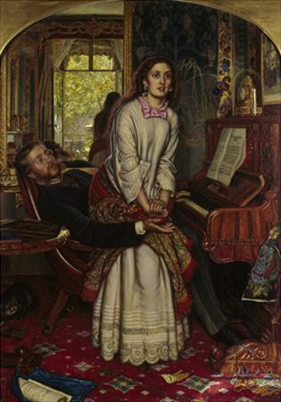 The Awakening Conscience, 1858 by William Holman Hunt
