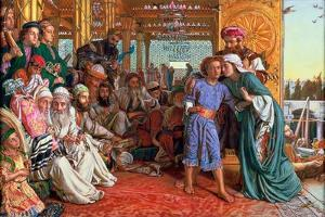 The Finding of the Saviour in the Temple, 1862 by William Holman Hunt