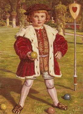The King of Hearts by William Holman Hunt
