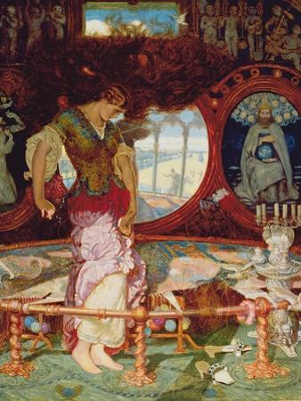The Lady of Shalott, C.1886-1905 by William Holman Hunt