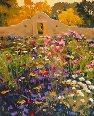 Adobe Compound Garden by William Hook