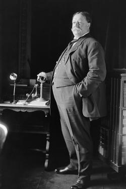 William Howard Taft Weighed over 300 Pounds When He Was President, Ca. 1910