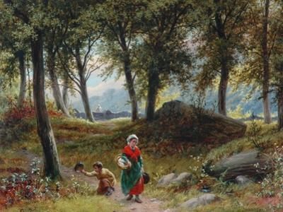 The Path Through The Woods, 1795 by William I Bromley