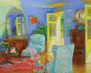 Blue Room, 2007/8 by William Ireland
