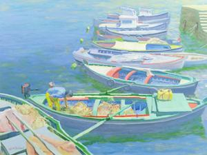 Fishing Boats by William Ireland