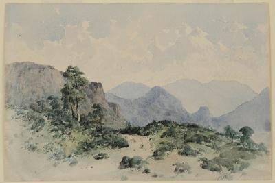 Lake District Fells, Borrowdale, 1840-58