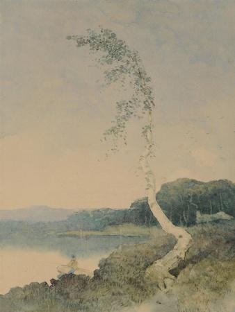 Silver Birch by a Lake, 1845
