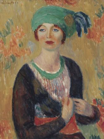 Girl in Green Turban, 1913