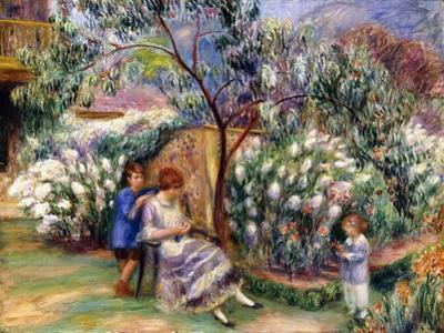 In the Garden, 1917