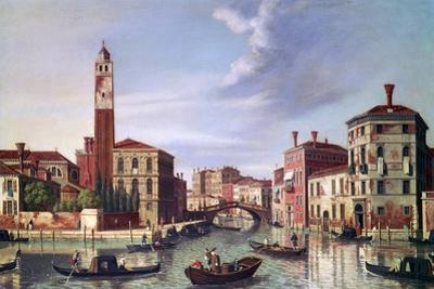 Palazzo Labia, Cannaregio Canal, C1750-1771