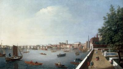 View of the Thames from the Adelphi Terrace