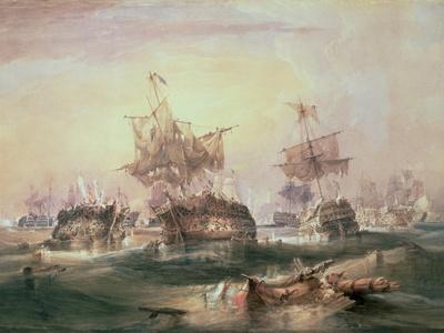 Battle of Trafalgar, 21st October 1805