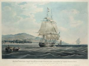 The Hon'ble East India Companies's Ship 'William Fairlie' Commanded by Captain Thomas Blair by William John Huggins