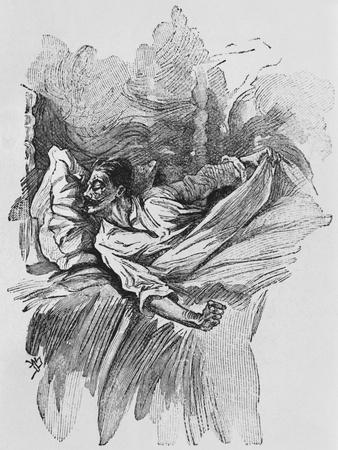 Nightmare, Illustration from 'Le Horla' by Guy De Maupassant