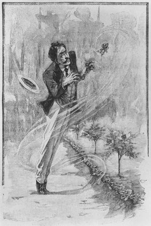 The Narrator, Illustration from 'Le Horla' by Guy De Maupassant