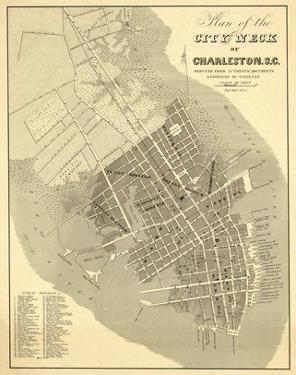 Charleston, South Carolina, c.1844 by William Keenan