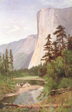 El Capitan, Yosemite Valley by William Keith