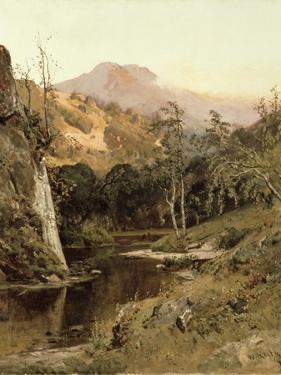 Mount Tamalpais from Lagunitas Creek, 1878 by William Keith