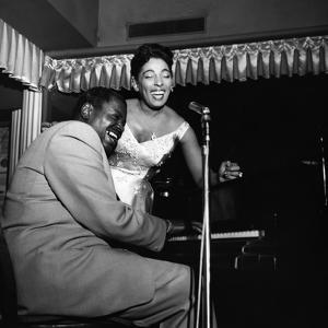 Carmen McRae, Oscar Peterson, 1956 by William Lanier