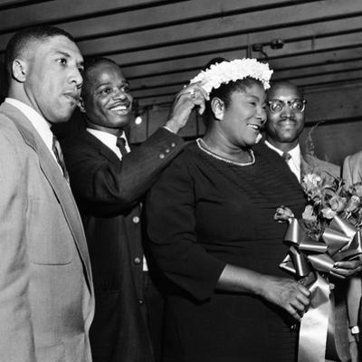 Mahalia Jackson - 1955 by William Lanier