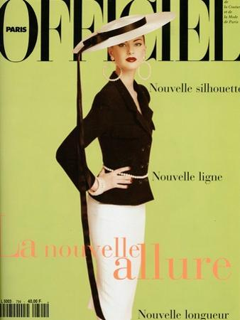 L'Officiel, March 1995 - Phoebe by William Laxton