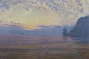 Sunset Catalina Island by William Lees Judson