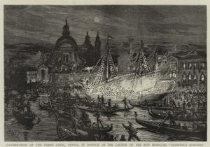 Illumination of the Grand Canal by William Lionel Wyllie
