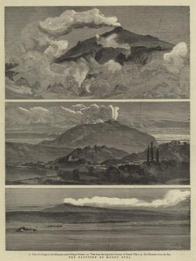The Eruption of Mount Etna by William Lionel Wyllie