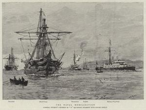 The Naval Mobilisation by William Lionel Wyllie