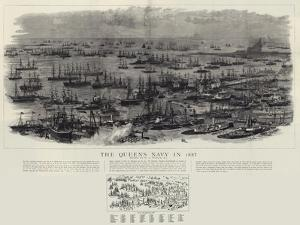 The Queen's Navy in 1887 by William Lionel Wyllie