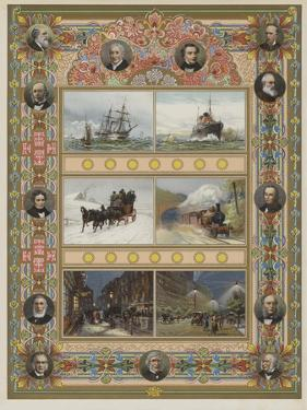 The Triumph of Steam and Electricity by William Lionel Wyllie