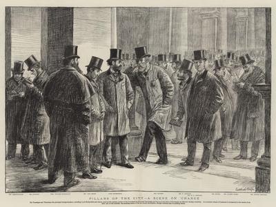 Pillars of the City, a Scene on Exchange