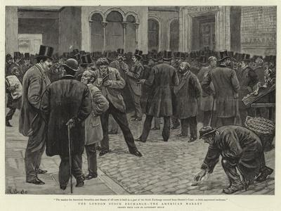 The London Stock Exchange, the American Market