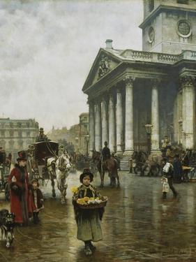 St Martin-In-The-Fields by William Logsdail