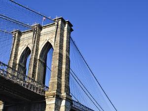 Brooklyn Bridge by William Manning