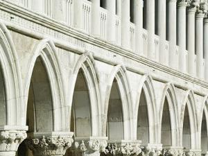 Detail of the Doge's Palace by William Manning