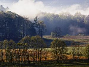 Fog Lifting from Cades Cove by William Manning