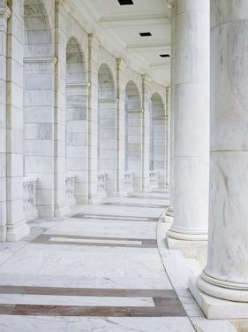 Interior of Jefferson Memorial by William Manning