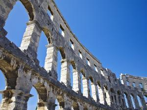 Roman Amphitheater in Pula by William Manning
