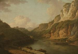 Matlock, Derbyshire, C.1780 by William Marlow