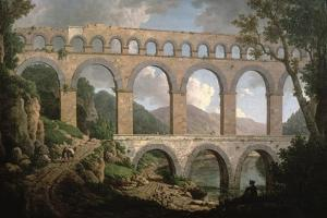 Pont Du Gard, Nimes by William Marlow